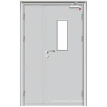 European Design Simple Steel Safety Fireproof Door
