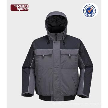 Hohe Qualität billige Arbeitskleidung Kleidung Großhandel Sicherheit Pilot Jacke