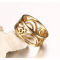 Gay Couple Wedding Jewellery Accessories Hollow Stainless Steel Rings