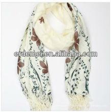 Хороший качественный принт на заказ шерстяной шарф