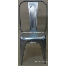 industrial chair metal finish