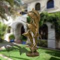 Hot Selling Beautiful Bronze Life Size Four Seasons Ladies Garden Water Fountain