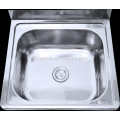 Australia wash basin and stainless steel laundry sink for cabinet
