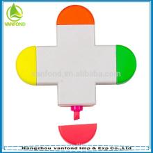 4 clásico color resaltador pluma multicolor marcador de resaltado de selección