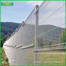 Оцинкованный или порошковый декоративный сетчатый забор садовый забор