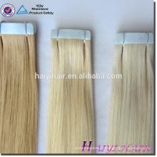 Vente chaude usine prix brésilien Remy bandes extensions de cheveux fabrication de machines