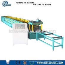 Machine hydraulique C & Z Purlin Roll Machine 18.5kW Puissance du moteur principal 10-25m / min / Machines de construction d'occasion