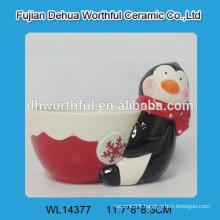 2016 New design ceramic pudding cup