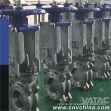 Carbon Steel Wafer Messer Schieber