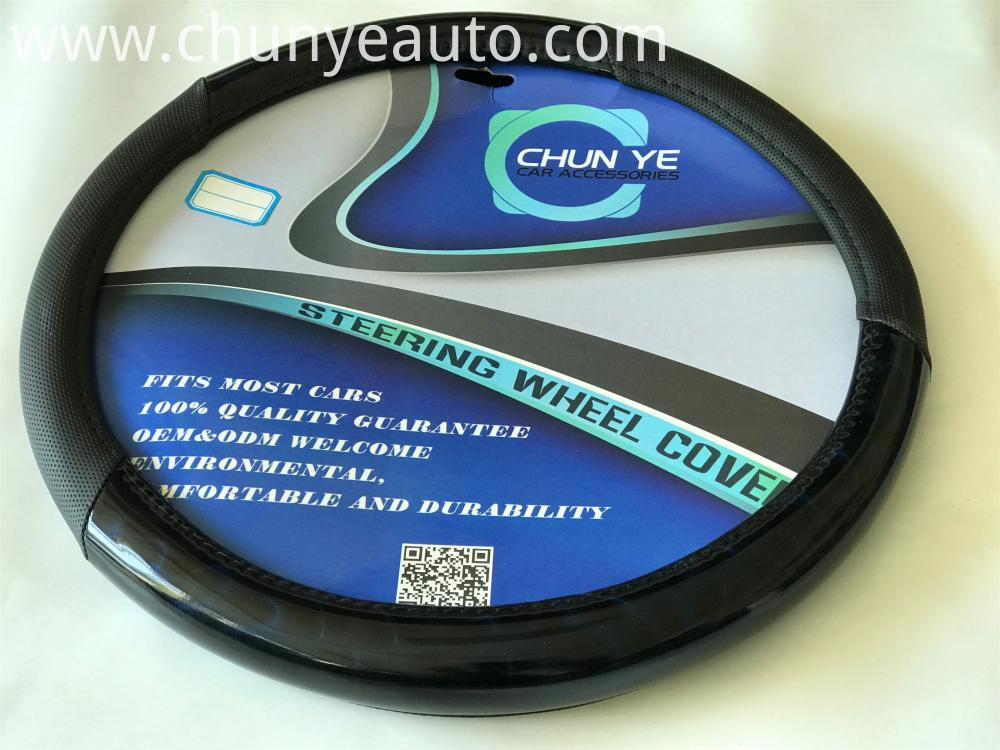plastic pvc steering wheel cover