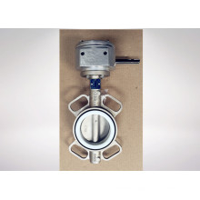 Made in China Stainless Steel Butterfly Valve
