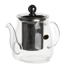 Théière filtrante en verre théière avec tamis