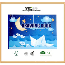 A4 Size Drawing Pad with Color Inner Paper