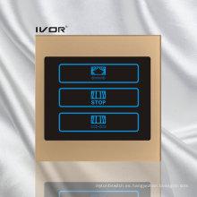 1 marco de contorno de acrílico del interruptor de la cortina de la cuadrilla (CT100-AC1)