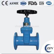 Factory Price Soft Sealing Non-Rising Stem Gate Valve, cast iron gate valve