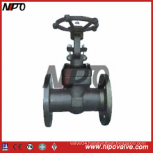 API 6D Flanged Forged Steel Gate Valve