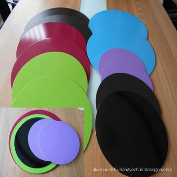 Color Coated Non-Stick Aluminmum Discs