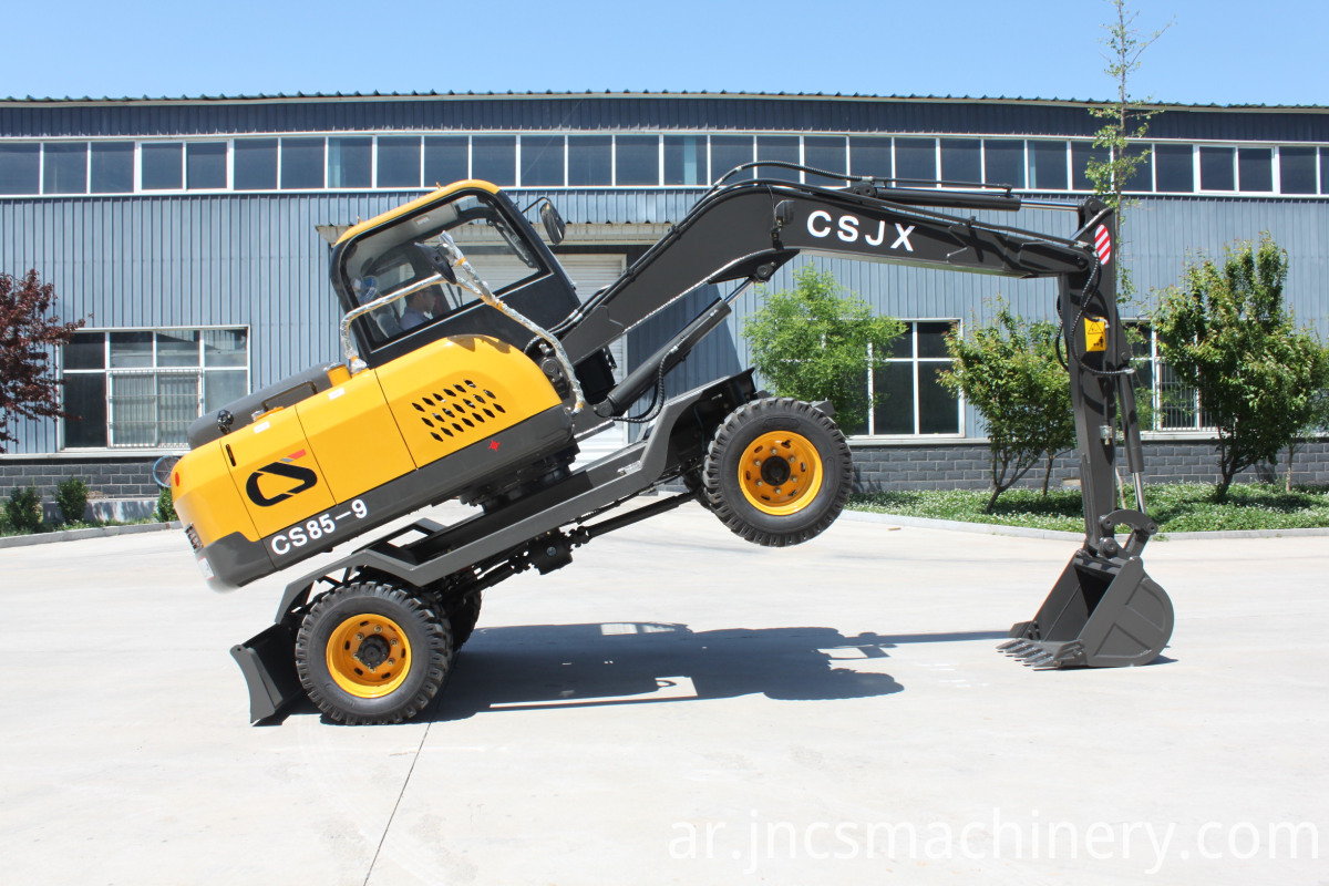 Excavator on Wheels