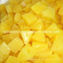 Tranches d'ananas en conserve, morceaux, trichés, morceaux, écrasés de haute qualité, meilleur prix (HACCP, ISO, BRC, FDA, HALAL, KOSHER)