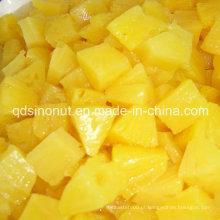 Fatia enlatada do abacaxi, partes, fragmentos, pedaço, esmagados com alta qualidade, melhor preço (HACCP, ISO, BRC, FDA, HALAL, KOSHER)