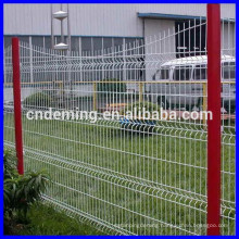 welded wave type iron wire mesh fence