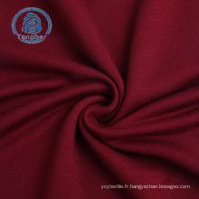 jersey extensible tricoté en rayonne spandex