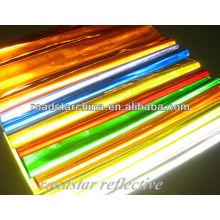 folha de PVC refletiva prismática