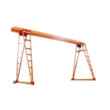 8ton box type single girder gantry crane price