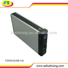 Alta velocidad USB 3.0 3.5 caja de disco duro SATA HDD Enclosure