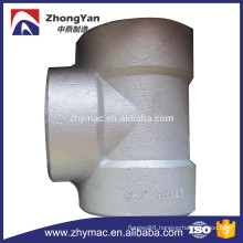 Forged Steel Pipe Fitting Tee, Galvanized Pipe Fitting