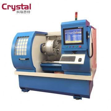 Machine de tour de remise à neuf de roue de coupe de diamant de WRM26H