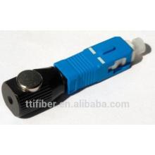 FC / Sc / St / LC adaptador de fibra óptica desnuda