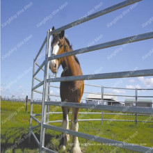 Paneles de ganado usados galvanizados calientes