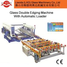 для кромок стекла и стекла, Загрузка двойной кромки стекла производственной линии