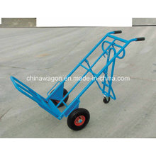 Hand Trucks Convertible Truck with 10-Inch Pneumatic Tires