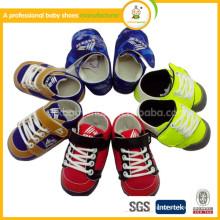 2015 zapatos del bebé de los wholesae nuevos zapatos únicos del deporte del bebé de los muchachos zapato de bebé