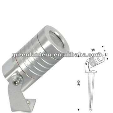 Lámpara LED para jardín de 24V y 3W