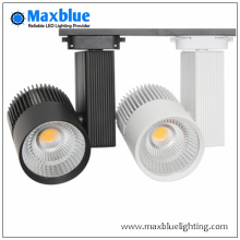 30W / 40W CRI alta 90ra CREE COB LED Track Light