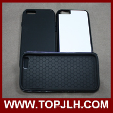 La chaleur de transfert impression Sublimation TPU + PC 2 dans 1 cas de téléphone pour l'iPhone 6