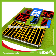 Outdoor huge trampoline park in China LE.T2.409.111.01