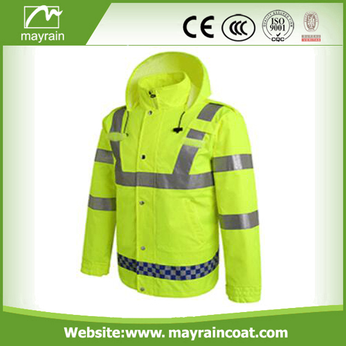 Hooded Safety Jacket