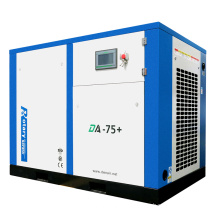 7 bar electric twin screw oil injected air compressor