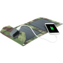 Paquet solaire pliable de sac de chargeur de livre électrique d'iPad de téléphone portable de 7W avec la certification de TUV