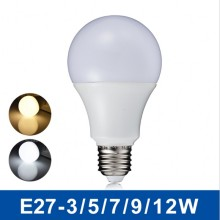 SMD 5630 High Quality 110V 220V 5W LED Bulb Light E27 B22