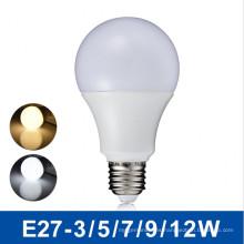 5W caliente Wite blanco natural blanco fresco bombilla ahorro de energía LED de luz