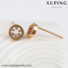 92367-Xuping Daily wear O banhado a ouro brinco best seller vogue jóias