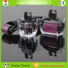 2015 magic beauty equipment 3 in 1 derma roller for hair loss treatment