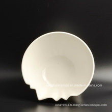 Plaque de dessert en porcelaine