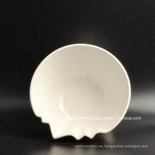 Placa de postre de porcelana del uso diario al por mayor