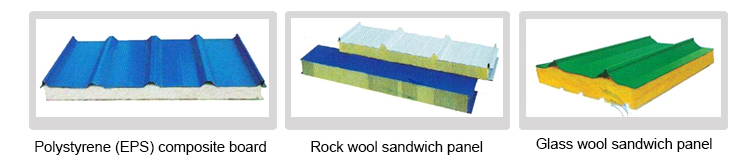 EPS Rock Wool Sandwich ROOF AND WALL Panel